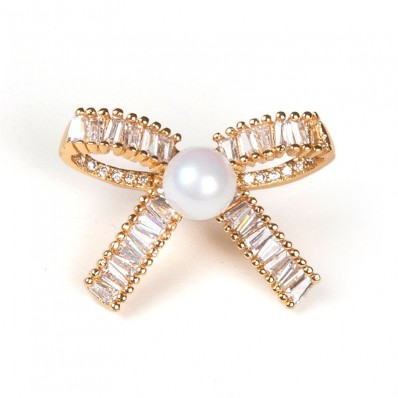 SMALL KNOT WITH PEARL GOLD 15,00 €