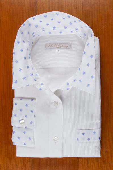 WHITE WITH BLUE STARS 145,00 €