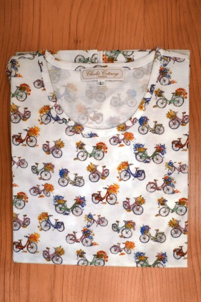 TEE SHIRT, COTTON JERSEY, BICYCLES ON WHITE 115,00 €