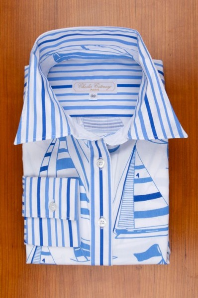 BLUE STRIPES+SAILBOATS 135,00 €