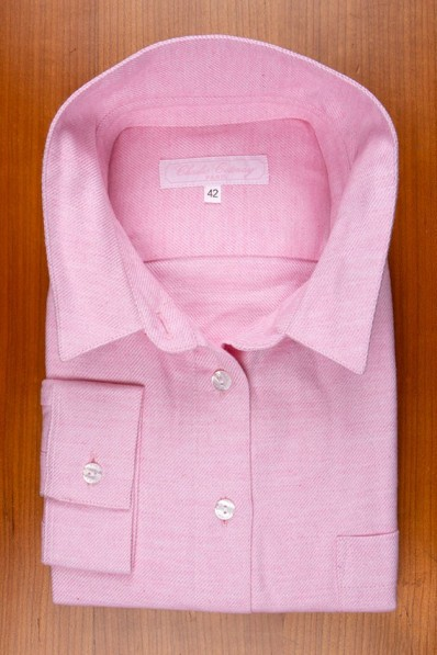 "WINTER COTTON FLANELL, PLAIN ""HYDRANGEA""PINK 125,00 €"
