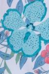 LARGE BLUE FLOWER PRINT SATIN 125,00 €