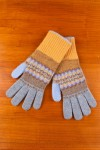 WOMEN'S GLOVES, ENGLICH WOOL JACQUARD