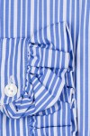 RUFFLED COLLAR AND CUFFS, FLAG BLUE AND WHITE STRIPES 135,00 €