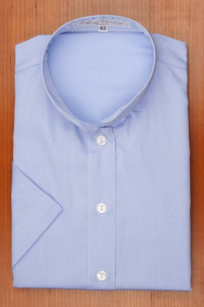 MANDARIN COLLAR, BLUE 120,00 €