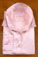 SATIN OF SILK IN PINK COLOR