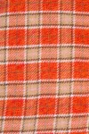 SOFT WINTER COTTON, ORANGE AND BEIGE CHECK 125,00 €