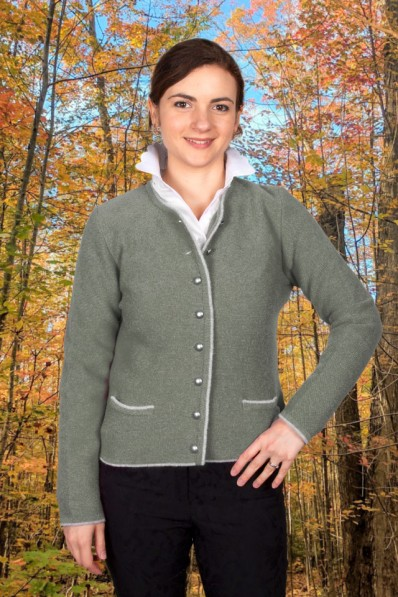 FITTED CARDIGAN CONTRAST BORDER 245,00 €