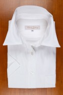 Pointed collar in white piqué 120,00 €