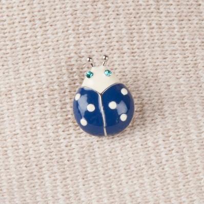 BLUE LADYBUG PIN'S 20,00 €