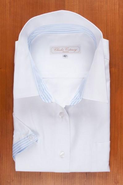 WHITE OXFORD, BLUE STRIPES 125,00 €