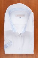 WHITE OXFORD, BLUE STRIPES 125,00 €