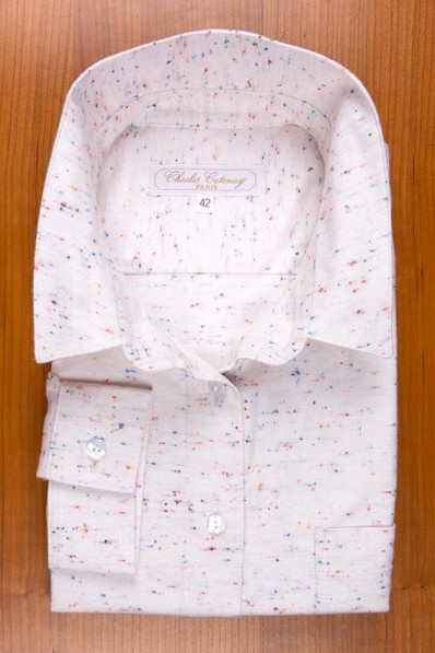 THIN COTTON FLANELL , SMALL POINTS 125,00 €